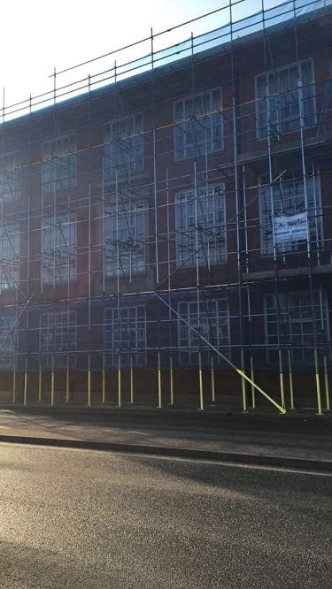 Scaffolding For School Repair in Tunbridge Wells